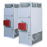 Стационарные теплогенераторы, вертикальные, без подключения к вентиляционным каналам