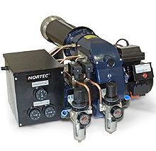 Горелки на отработанном масле NORTEC WB350 – WB550