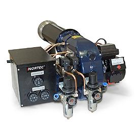Многотопливная горелка NORTEC WB 550 в разделе Горелки на отработанном масле на сайте компании ТК Сервис - промышленное воздушное отопление и вентиляция, отопление на отработанном масле