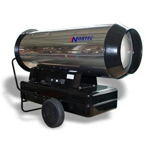 Дизельная тепловая пушка с дымоходом NORTEC NDH 105 DFS