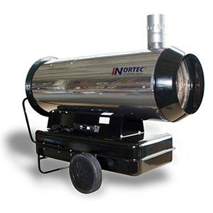 Дизельная тепловая пушка с дымоходом NORTEC серии UFS