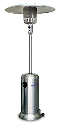 уличный газовый обогреватель NORTEC Garden Sun 12S в разделе Уличные газовые инфракрасные обогреватели на сайте компании ТК Сервис - промышленное воздушное отопление и вентиляция, отопление на отработанном масле