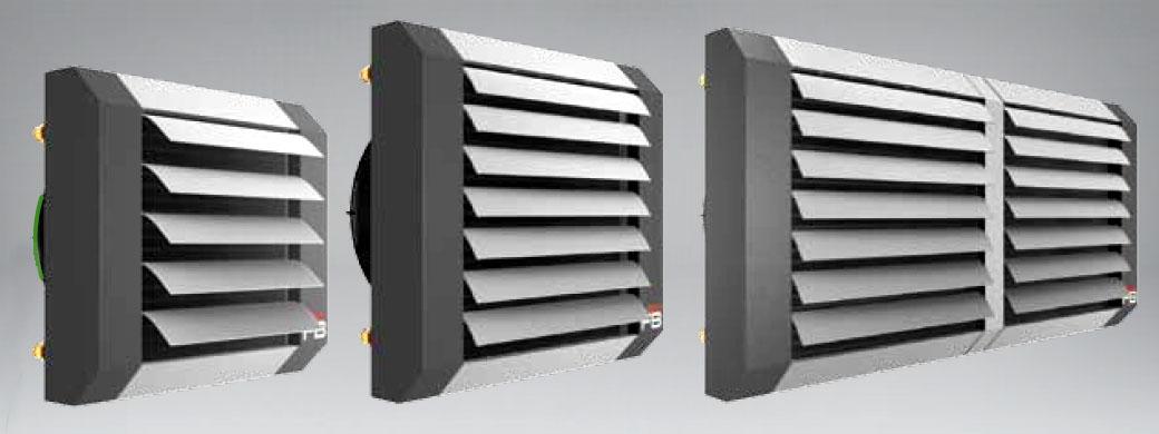 Водяные калориферы с вентилятором Flowair LEO