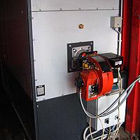 Теплогенератор в контейнере