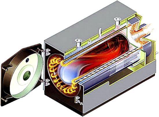 Теплообменник отходящих газов для водогрейных котлов loos теплообменник для печи фото